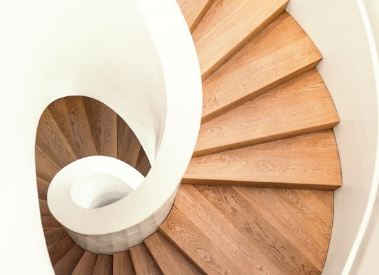 Forme de l'escalier