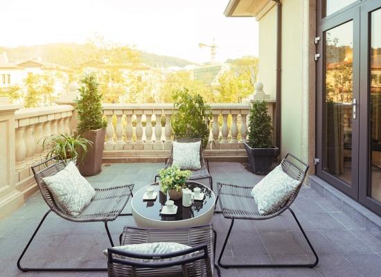 Prix pour la terrasse
