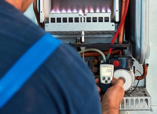 Installation chaudière au gaz