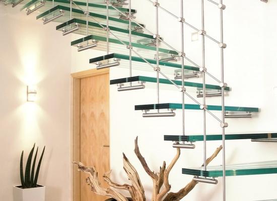 Prix pour un escalier en verre