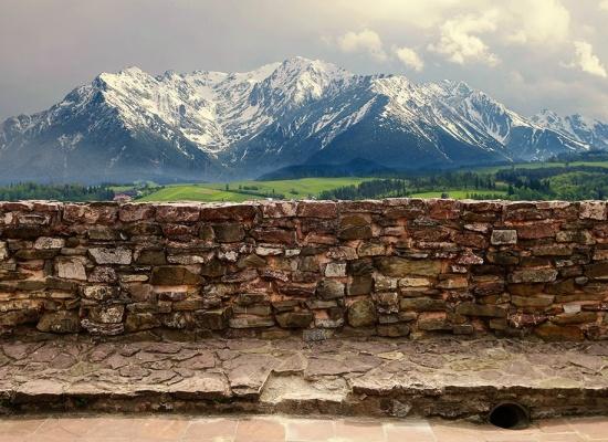 Clôture en pierre