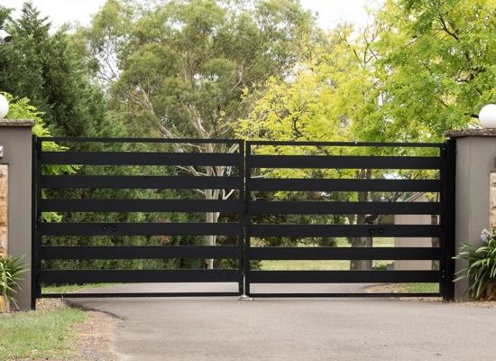Prix pour un portail en acier